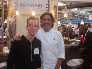 Me with Giorgio Locatelli