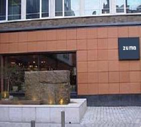 Zuma Japanese restaurant, Knightsbridge, Executive Chef/Patron Rainer Becker