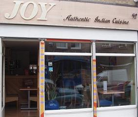 Joy Authentic Indian Cuisine, Broadway Market, Hackney, Chef/Patron Jafoor Ahmed