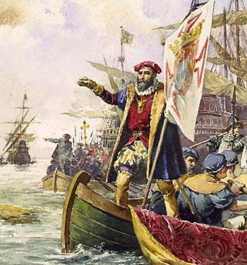 Vasco de Gama, leading Portuguese explorer of the European Age of Discovery