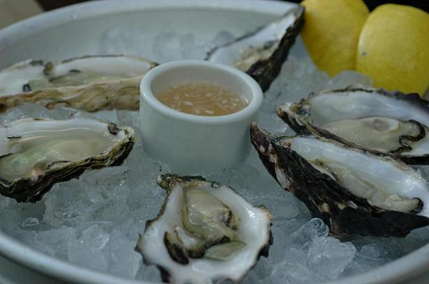 Beyond temptation - oysters for food bloggers