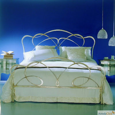 ArredaClick - Italian design furniture blog: Italian wrought iron beds