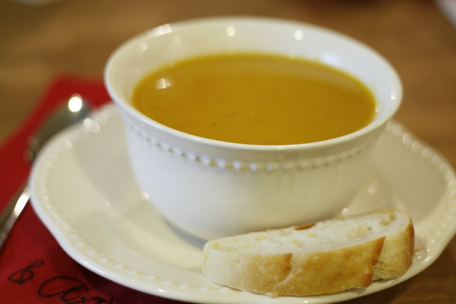 just that good ...: Butternut Squash and Apple Soup