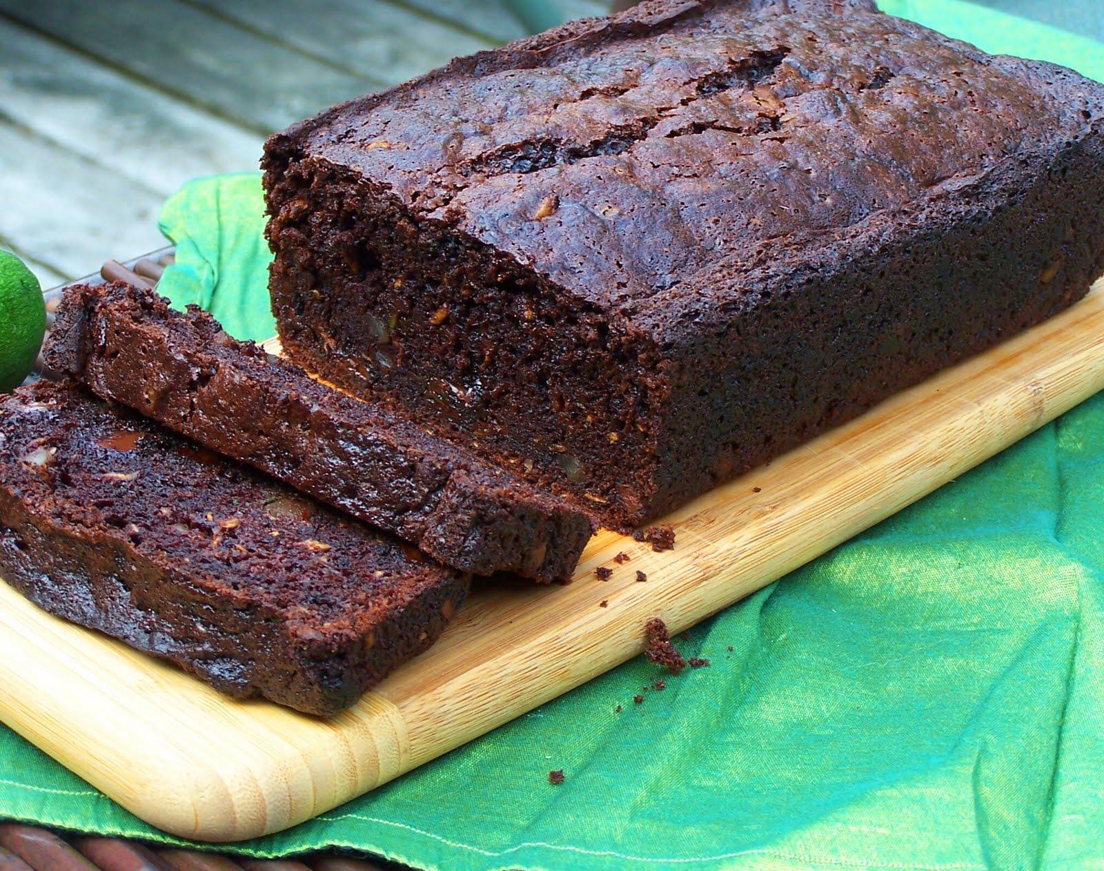 Vanilla Basil: Chocolate Zucchini Bread
