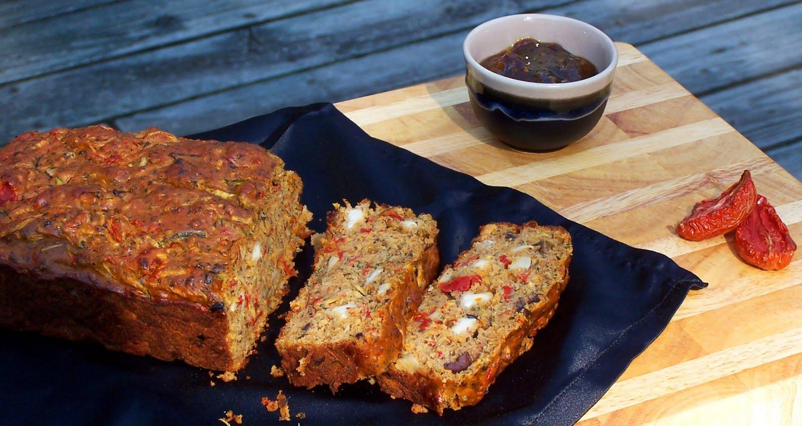 "Vanilla Basil: Savory Zucchini Bread & 2 Tomato ""Use-Ups"""