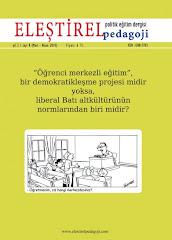 ELEŞTİREL PEDAGOJİ DERGİSİNİN 8. SAYISI ÇIKTI !..