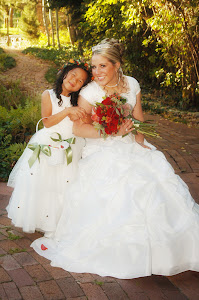 Look at my darling flower girl!