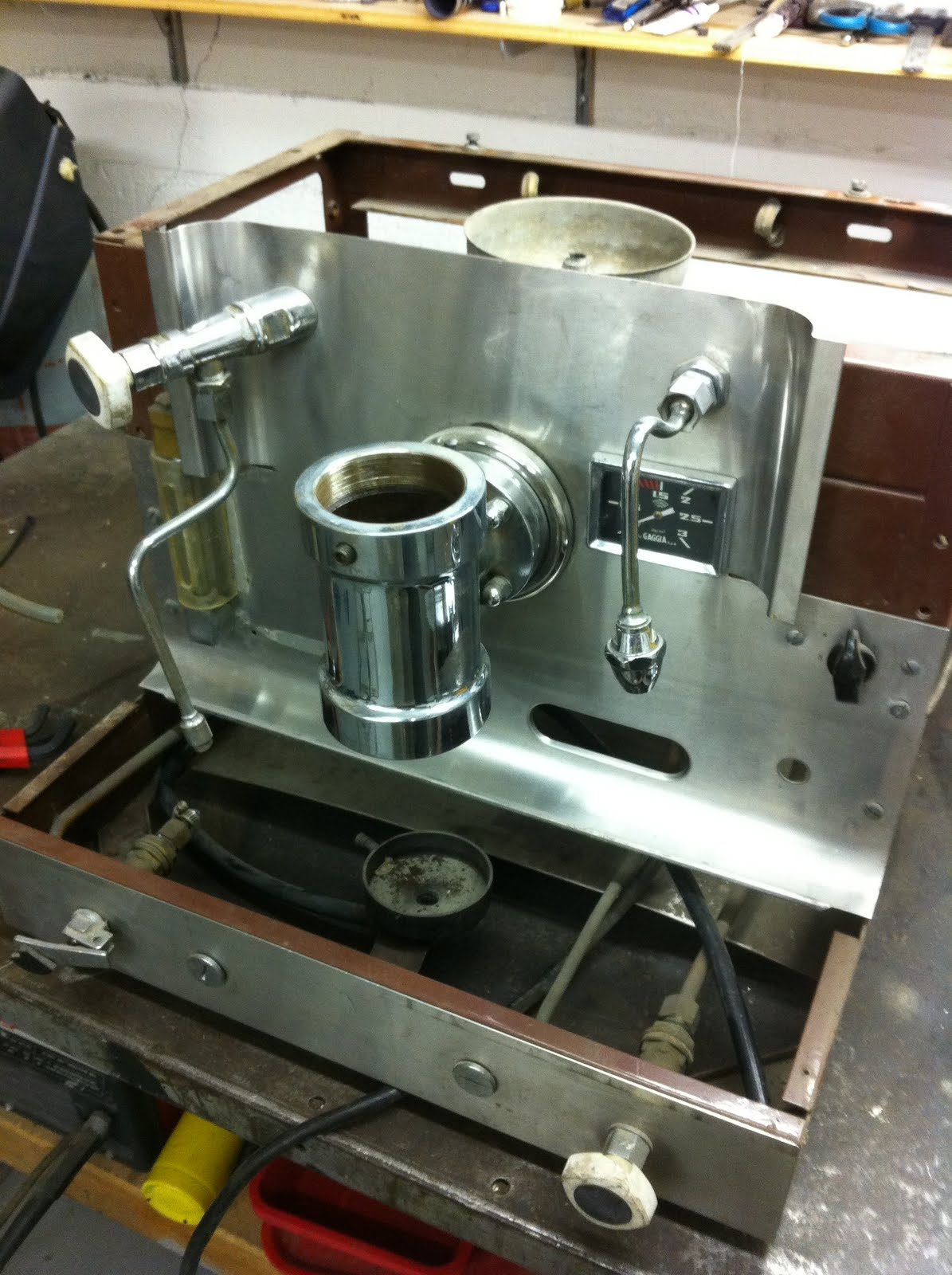 Coffee Maker Repair San Francisco : cafe gaggia orione: on the work bench