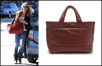 Cameron Diaz and the Chanel Coco Cocoon Tote Bag