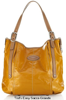 Designer Handbag Reviews At Señora Cartera: Tod's Easy Sacca Grande :  tote tods