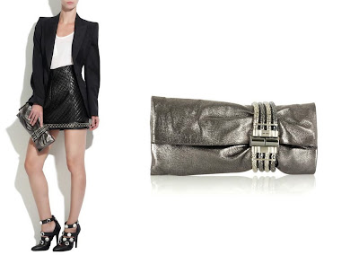 Designer Handbag Reviews at Señora CarteraJimmy Choo Chandra Metallic Leather Clutch | Designer Handbag Reviews At Señora Cartera :  handbag jimmy choo bag chandra