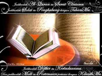 SELAMAT MENYAMBUT KEDATANGAN NUZUL ALQURAN KEPADA SEMUA UMAT ISLAM
