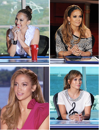 american idol jennifer lopez hair. jennifer lopez american idol