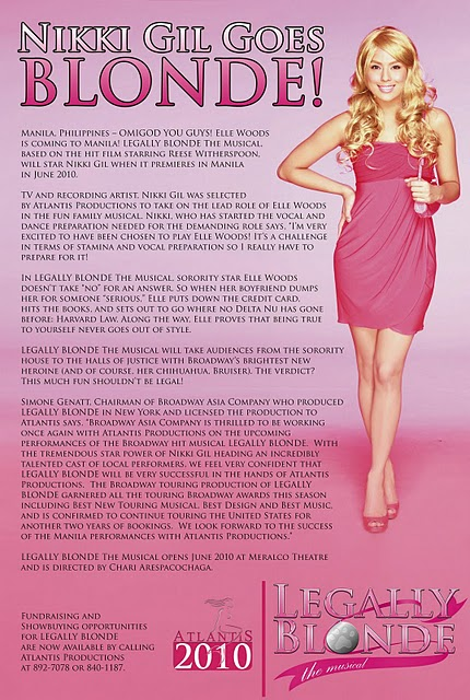 legally blonde the musical philippines