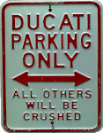 DUCATI rules