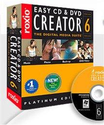 easy cd dvd creator 7: