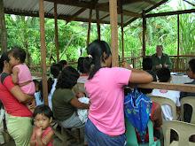 PAUL W. TEACHES A BIBLE STUDY IN SAMPAGUITA, LIPA CITY