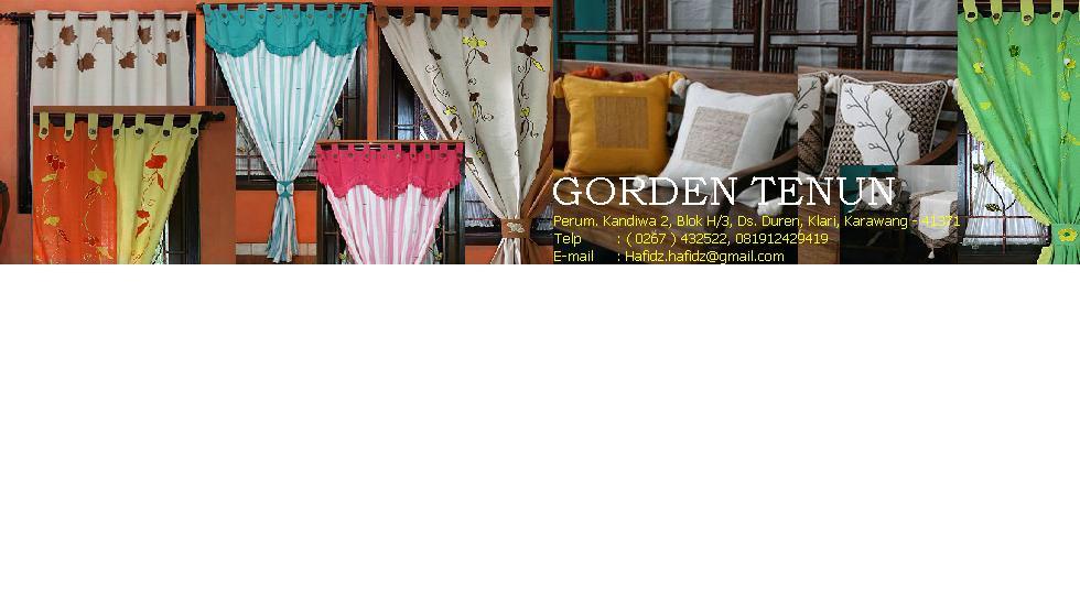Aneka Gorden Tenun