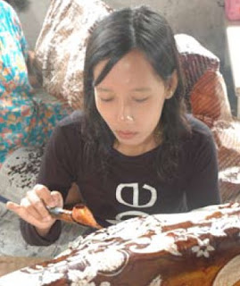 Indonesian Batik craft heritage