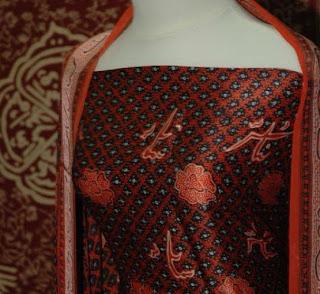 Batik Besurek, Bengkulu Indonesia