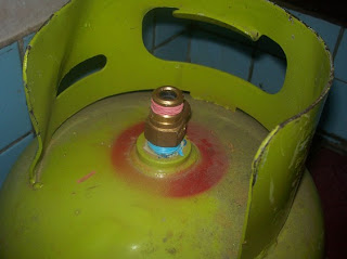 Tabung Gas LPG 3 kg pertamina meledak