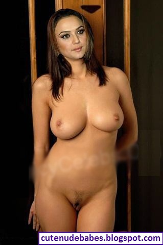 Preity Zinta Totally Naked Showing Her Cute Pussy And Sey Huge Boobs