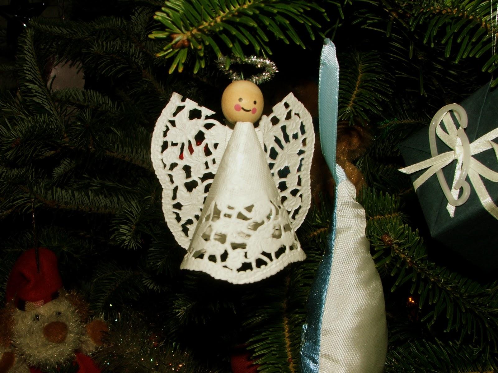 Как сделать ангела из бумаги фото