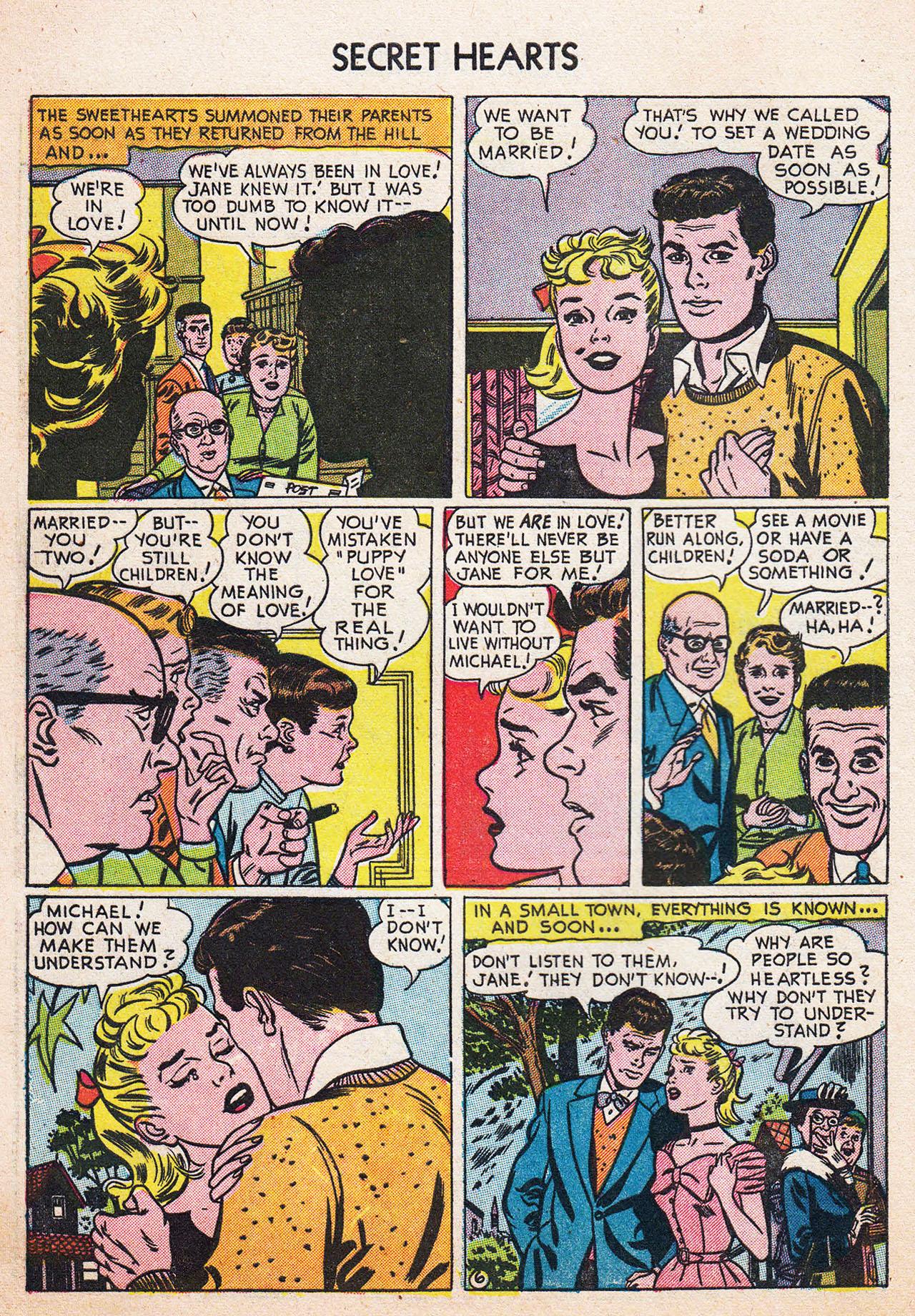 Read online Secret Hearts comic -  Issue #13 - 8