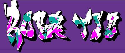 Graffiti: Rosa TIC
