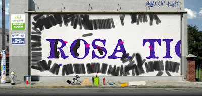 Graffiti: Rosa
