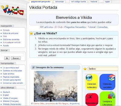 Portada de la wikidia