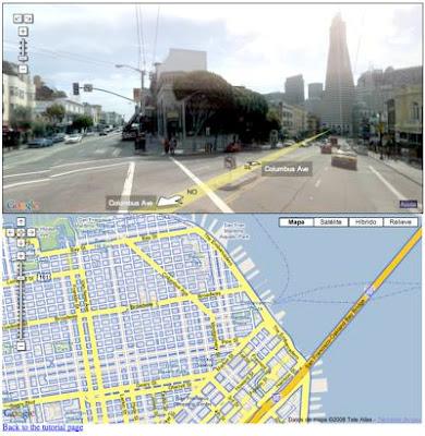 Perspectiva en Google Street