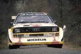 Rally Grupo B Audi quattro S1 la ultima evolucion
