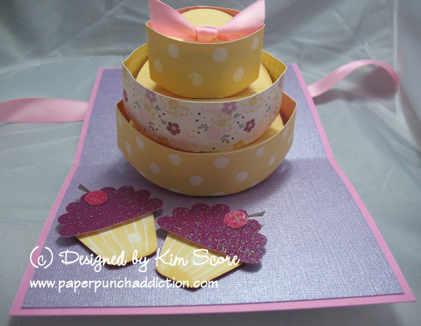 Paper Punch Addiction Pop Up Birthday Cake