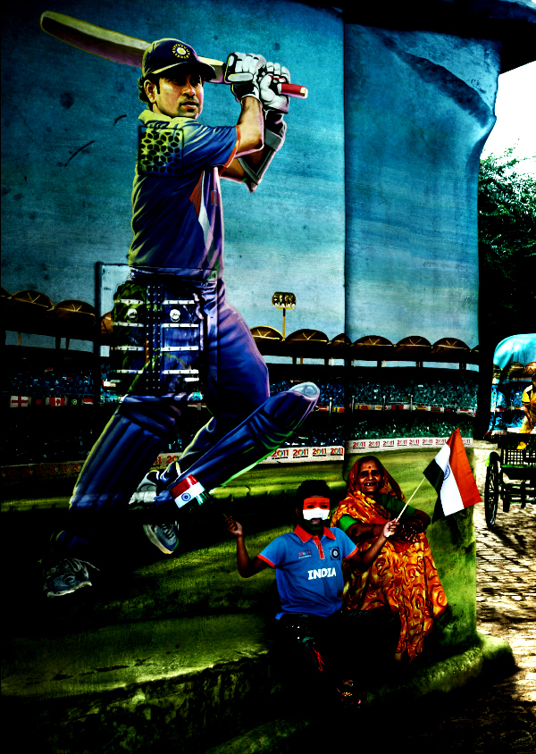 Official ICC Cricket Worldcup 2011 Print Advertisements Posters