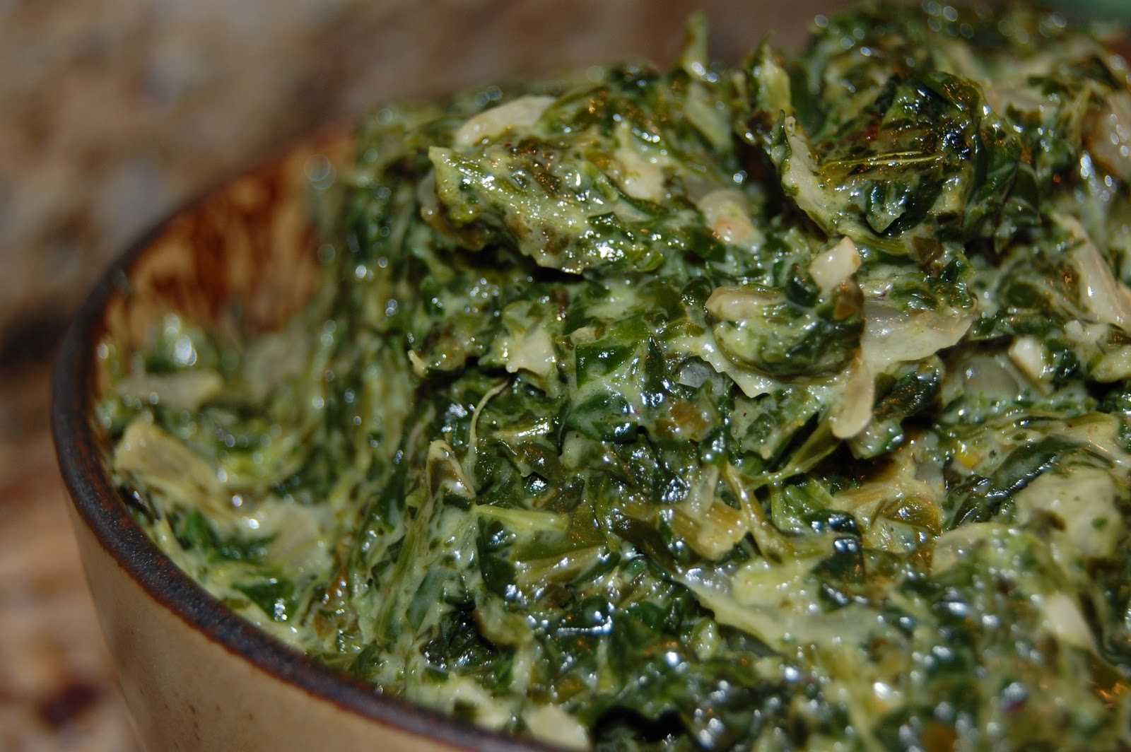 Scratch.Love: Steakhouse Style Creamed Spinach