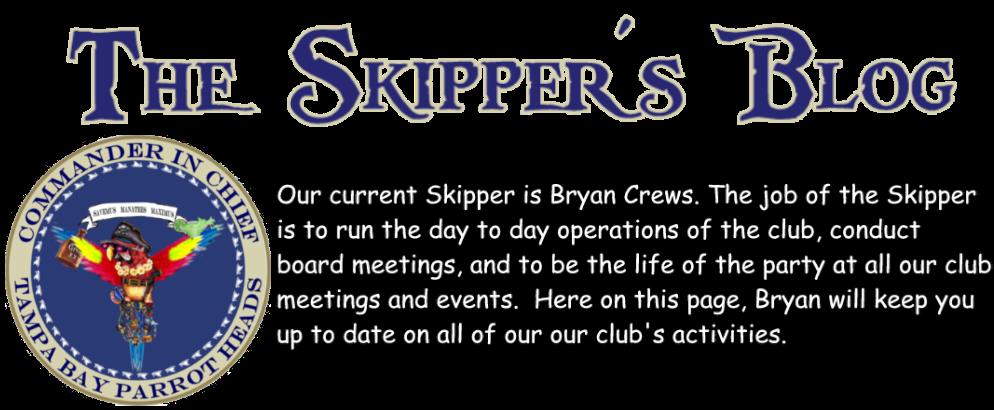 The Skipper's Blog