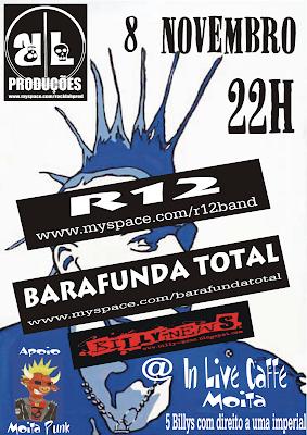R12 + Barafunda Total + DJ Billy