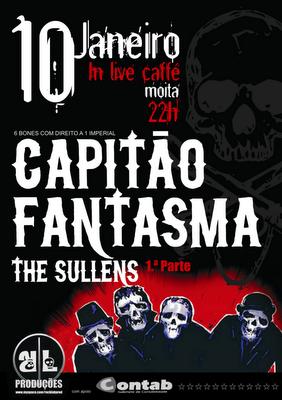 Capitão Fantasma + The Sullens