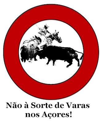 Não à Sorte de Varas nos Açores