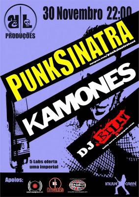 PunkSinatra + Kamones + DJ Billy @ In Live Caffé