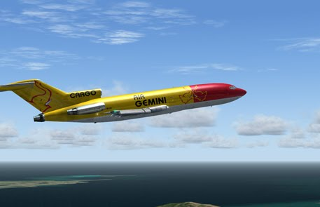 DreamFleet B727-100 cargo Gemini FS9
