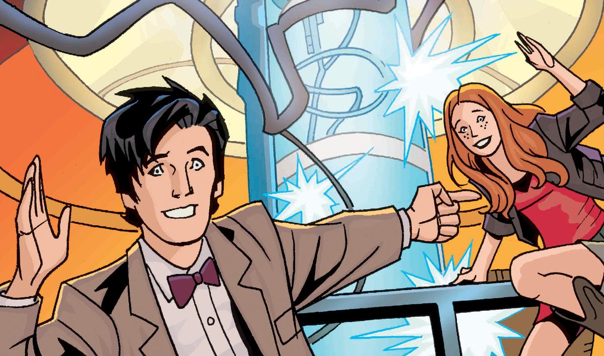 Comic doctor strip