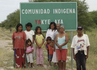 Comunidades  Indigenas  en  Paraguay  Reclaman Tierras
