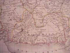 عام 1827م خريطة بلوشستان المستقلة