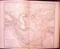 عام 1869م خريطة بلوشستان المستقلة
