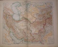 عام 1905م خريطة بلوشستان الشرقية