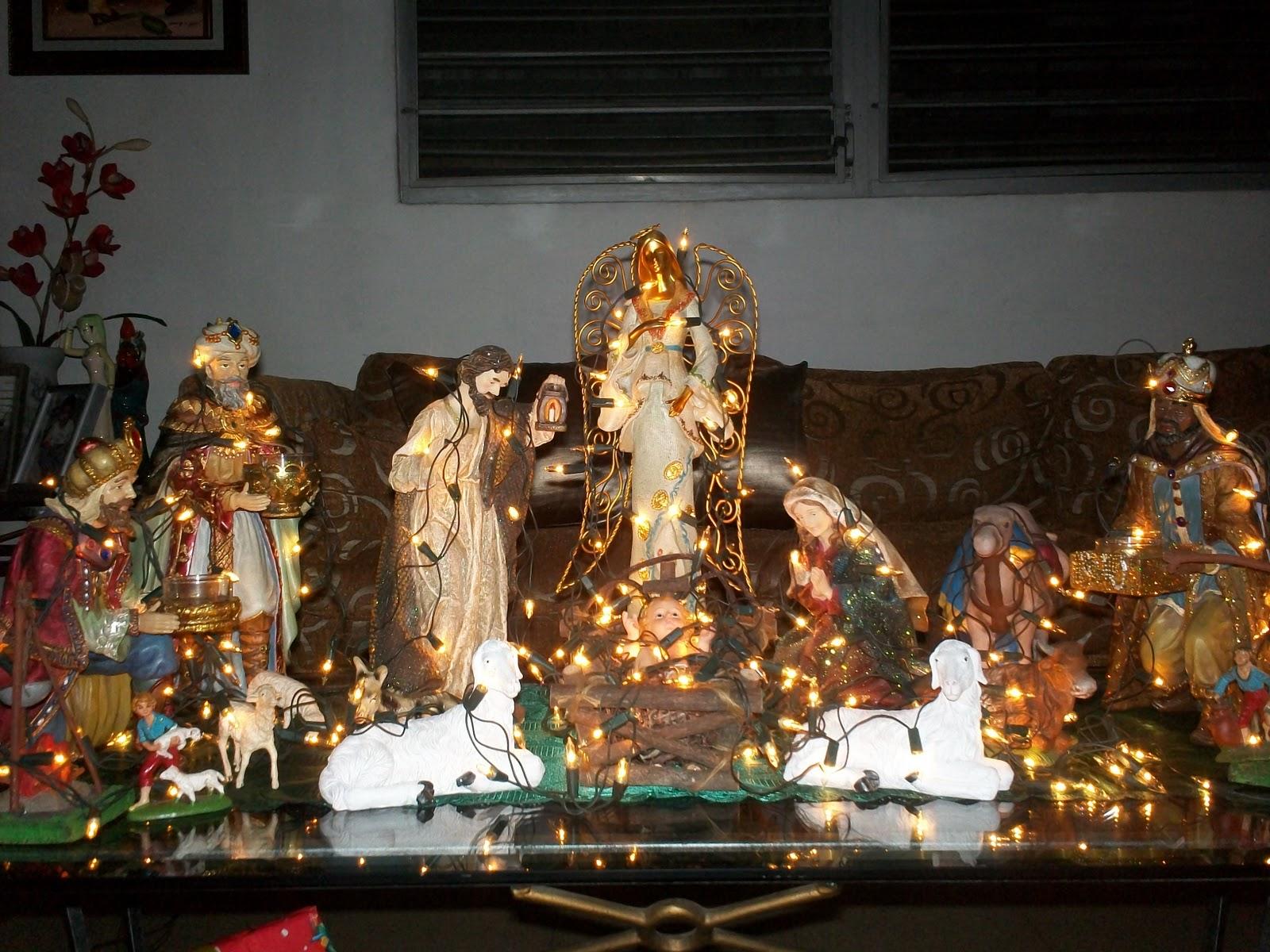 Villas de navidad el pesebre verdadero sentido de la navidad - Nacimiento para navidad ...