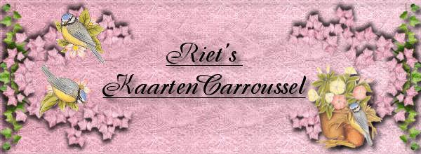 Riet's Kaarten Carroussel