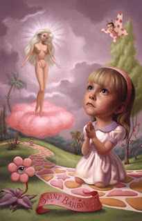 'Saint Barbie', de Mark Ryden
